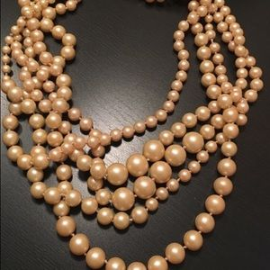 J. Crew pearle necklace!